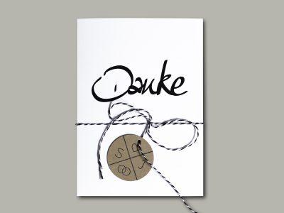 Dankeskarte INK