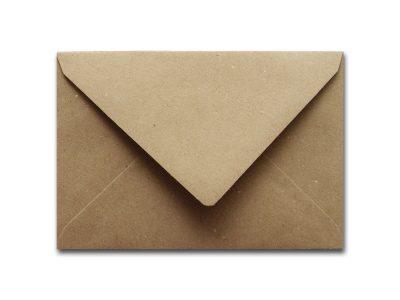 Briefumschläge Kraftpapier BRAUN C6