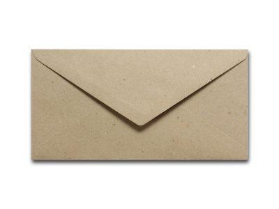 Briefumschläge aus Kraftpapier DIN lang