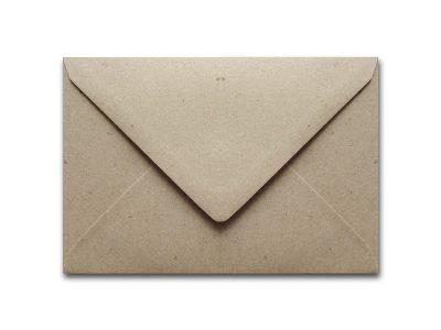Briefumschläge Kraftpapier GRAU C6