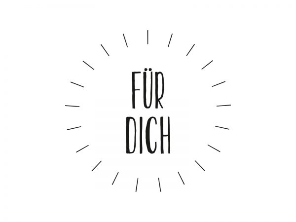 Stempel FÜR DICH   42