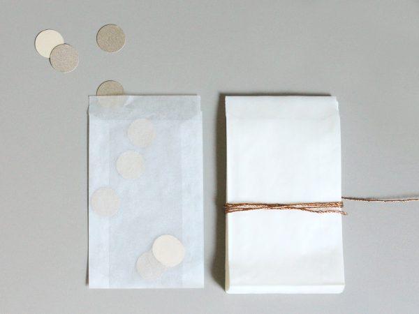 50 transparente Tütchen
