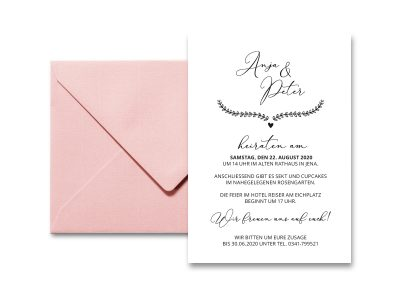 Stempel Hochzeitseinladung | 52