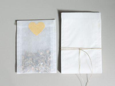 25 transparente Tüten Größe S