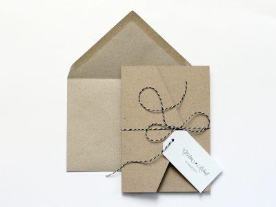 Pocketfold aus Kraftpapier HOCH
