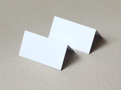 Tischkarten weiß