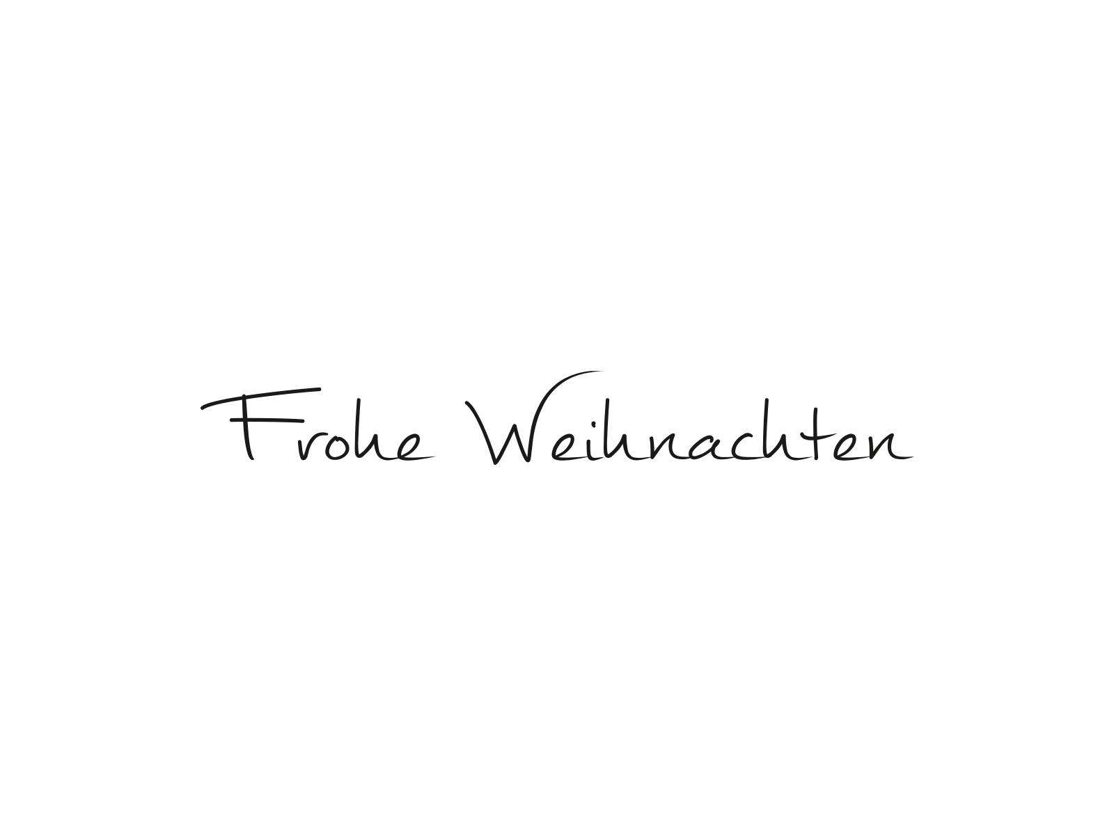 Stempel FROHE WEIHNACHTEN | 74 | inLiebe Papeterie