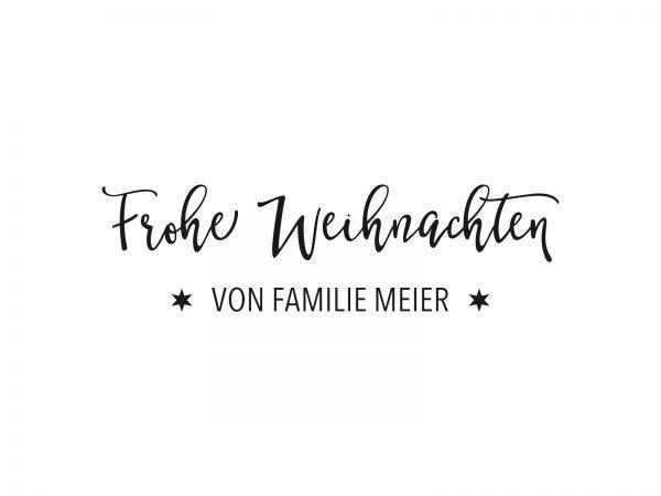 Stempel FROHE WEIHNACHTEN | 75