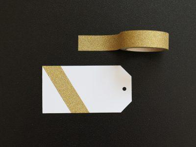 Klebeband Glitzer GOLD