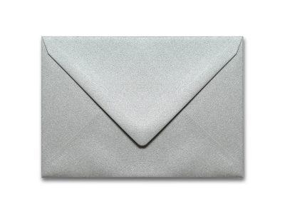Briefumschläge Metallic Silber C6