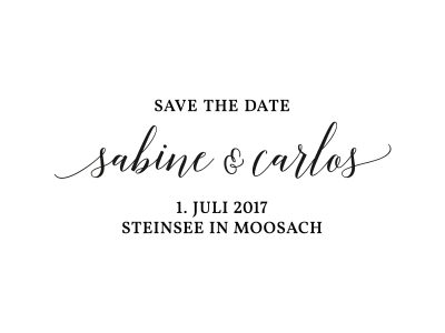 Stempel SAVE THE DATE | 76
