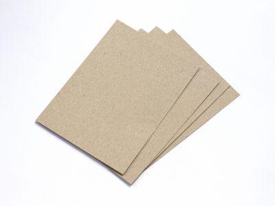 20 Karten aus Kraftpapier A6