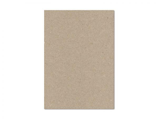 20 Karten Kraftpapier GRAU A6