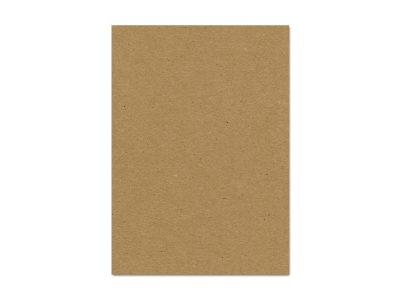 20 Karten Kraftpapier BRAUN A6