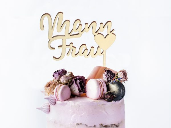 Cake Topper Mann♥Frau