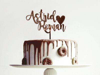 Cake Topper aus Acryl | D5