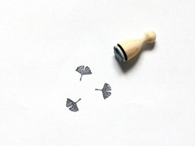 Ministempel GINKGO