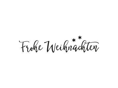 Stempel FROHE WEIHNACHTEN | 106