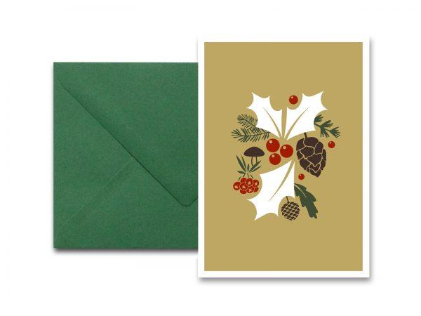 Weihnachtskarte ILEX