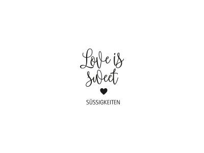 Stempel LOVE IS SWEET | 151