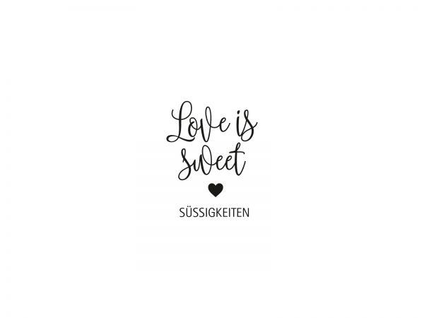 Stempel LOVE IS SWEET | 151
