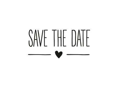 Stempel SAVE THE DATE | 158