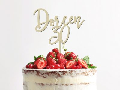 Cake Topper zum Geburtstag