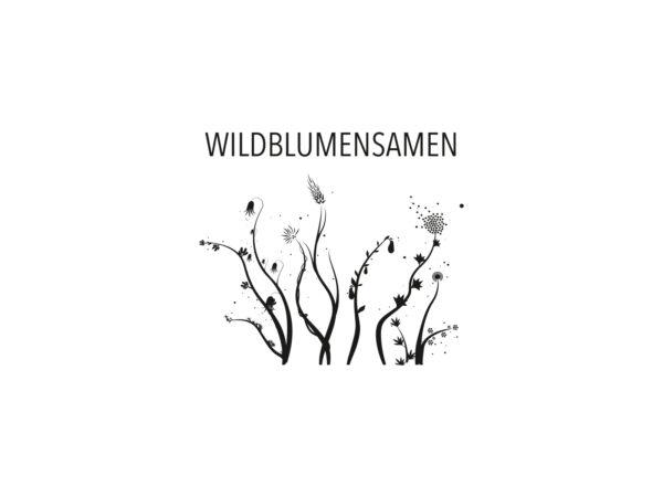 Stempel WILDBLUMENSAMEN   190