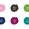 Stempelkissen in 6 Farben